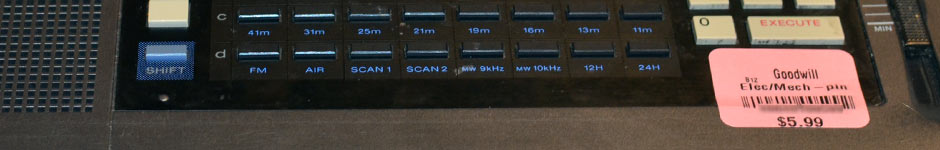 ICF-2010 Shortwave Radio