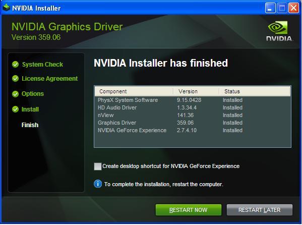 NVIDIA Driver Setup