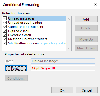 How to Increase Default Zoom Level in Outlook 2016 | Matt's Repository