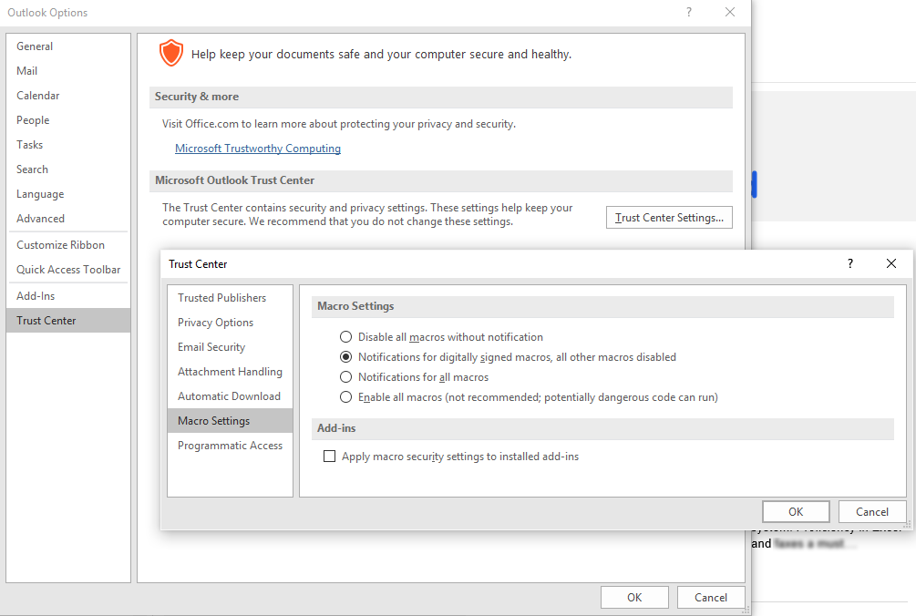 How to Increase Default Zoom Level in Outlook 2016 | Matt's